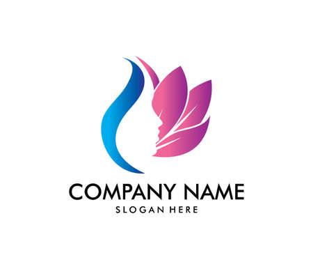 projekt logo wektor dla salonu piękności, centrum dermatologii i domu odnowy biologicznej. Logo