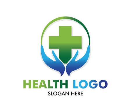 diseño vectorial para atención médica, médico de clínica saludable familiar, centro de bienestar, farmacia, clínica médica y terapia médica de salud