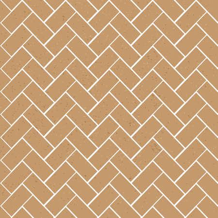 brown textured brick vector seamless pattern template Illustration