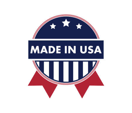 made in america vector logo design template 일러스트