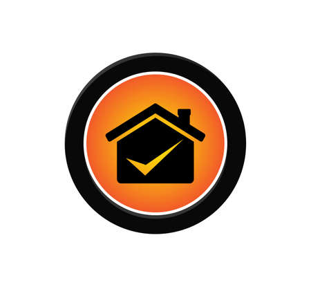professional business deal house icon vector logo design template