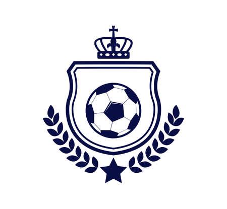soccer football crest emblem vector logo design template inspiration for team, club, apparel, badge and identity Logo