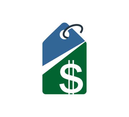 dollar stock money logo market vector design illustration template Illustration