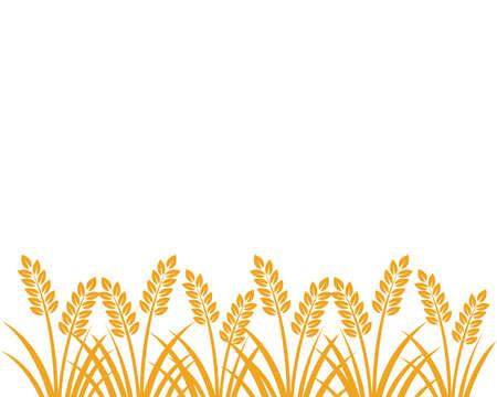 farm house agriculture crop vector logo design