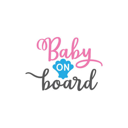 baby mermaid on board family funny pun vector graphic design for cutting machine craft and print template