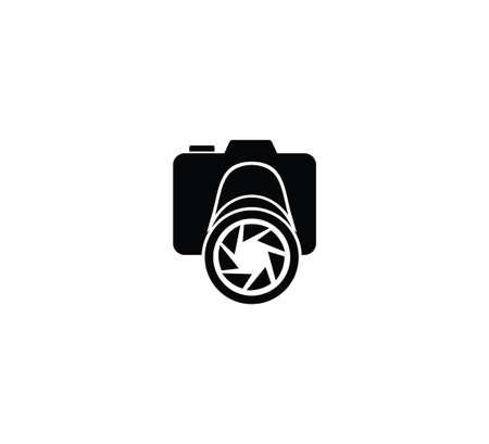 camera photography studio vector logo design concept template