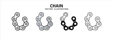 drive chain wheel vector icon design. car motorcycle spare part replacement service.