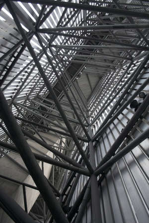 Tubular structure of modern building