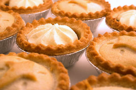mince: Collection of mince pies. Stock Photo