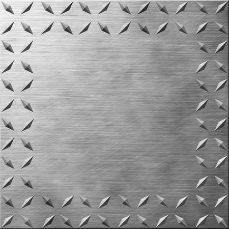 Diamond Plate Texture with Copy Space 版權商用圖片