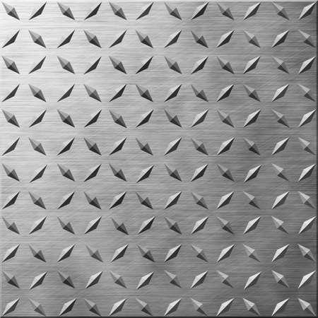 Diamond Plate Brushed Metal Effect Texture 版權商用圖片