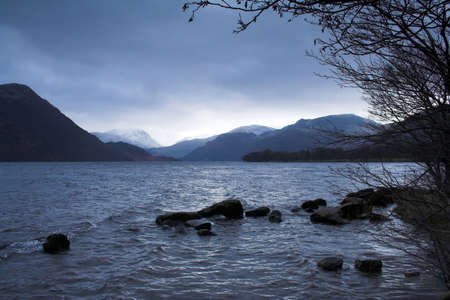 Ullswater in the Lake District National Park, in Cumbria, England. photo