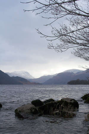 Ullswater in the Lake District National Park, in Cumbria, England. 版權商用圖片