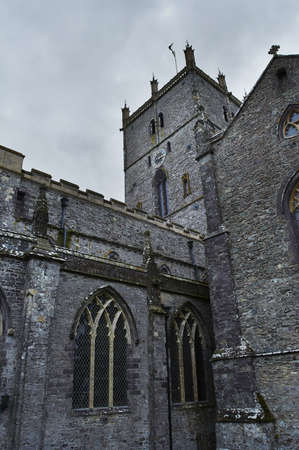 pembrokeshire: St Davids Cathedral in Pembrokeshire, Wales.