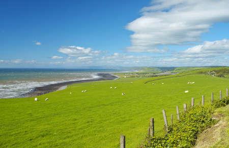Welsh Countryside. 版權商用圖片