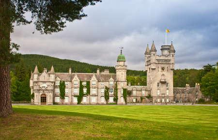 scotland: Balmoral Castle in Royal Deeside, Aberdeenshire, Scotland. Stock Photo