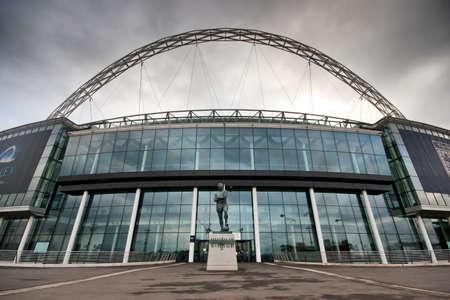 Wembley Stadium. Home of the England national football team. 新聞圖片
