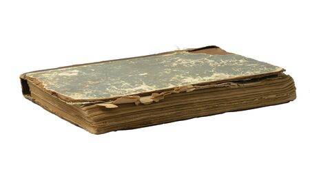 deckle: old book on a white background