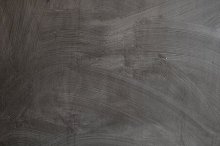 blackboard texture wall and black background, copy space. close up of a black dirty chalkboard