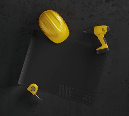 下書きプロジェクトとヘルメット