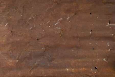 ironworks: rusty corragated metal panel