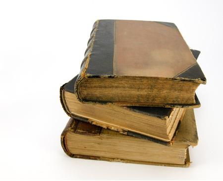 repository: Antique books Stock Photo