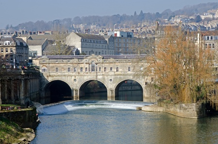Pulteney brige, Bath, UK photo