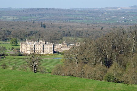 wiltshire: 16th Century Longleat House, Wiltshire, England