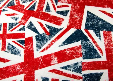 British Union Jack flag montage photo