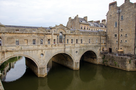 Pulteney Bridge, Bath, England photo