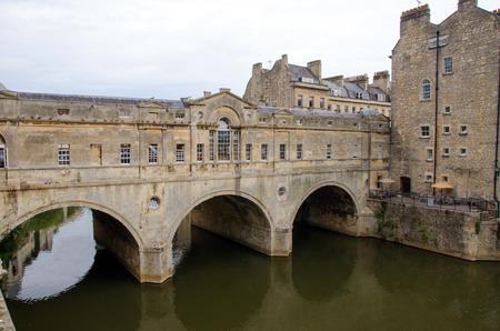 county somerset: Pulteney Bridge, Bath, England