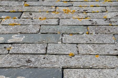slate roof: Cornish slate roof tiles