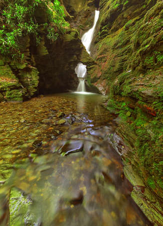 St.Nectan's waterfall is in a designated Site of Special Scientific Interest (SSSI), it has been described as amongst the ten most important spiritual sites in the country. A place of outstanding natural beauty.