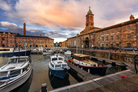 The Royal William Yard in Plymouth, Devon, UK Editorial