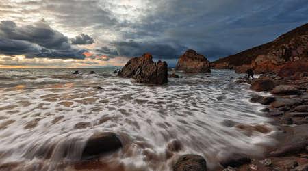 Ruching ocean