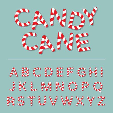 cane: Candy Cane Alphabet