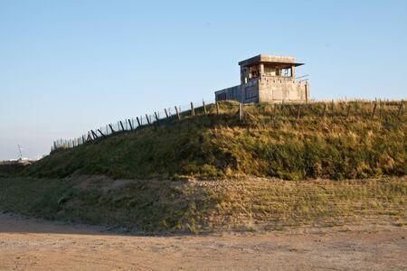 bunker: bunker in dunes