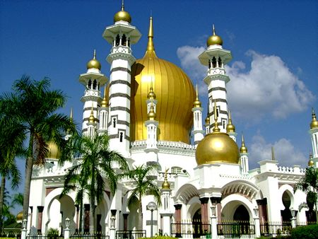 The Gold Mosque