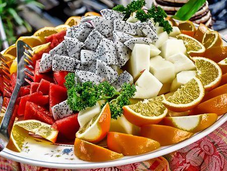 The Fruit for Desert Stock Photo