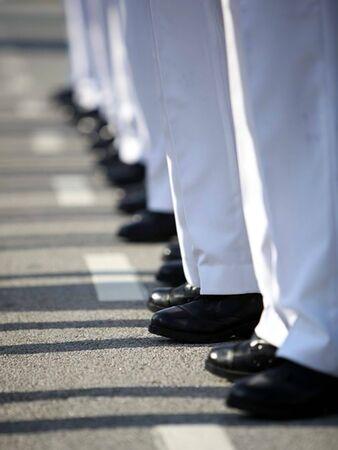discipline: The Discipline Marching Stock Photo