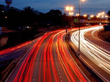 The High Speed Way Stock Photo