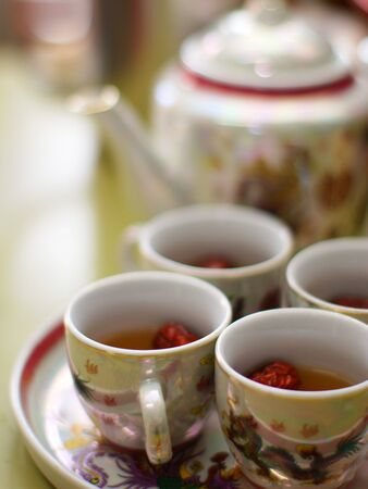 Chinese Teapot use in Wedding, Asian Culture