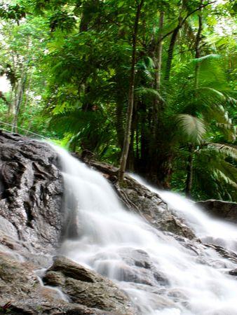 River in Rush that look like waterfall