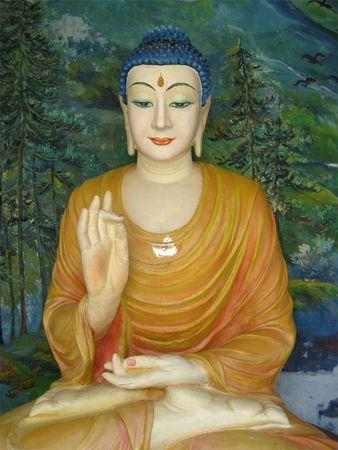 buddha face: The Buddha
