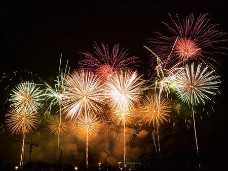 fuegos artificiales: Feliz noche de Fireworks