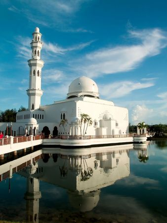 White Duplicate Mosque