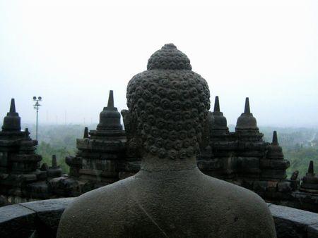 cabeza de buda: La estatua de Buda  Foto de archivo