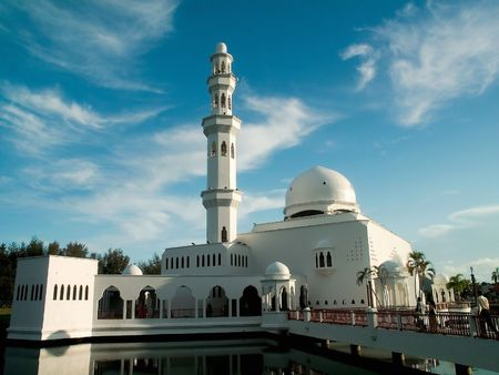 White Mosque Stock Photo - 7529829
