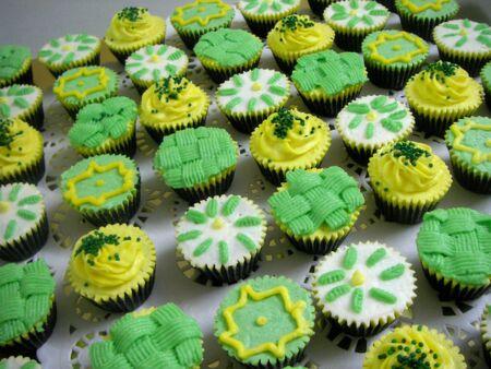 The Hari Raya Cupcakes Stock Photo - 7529989