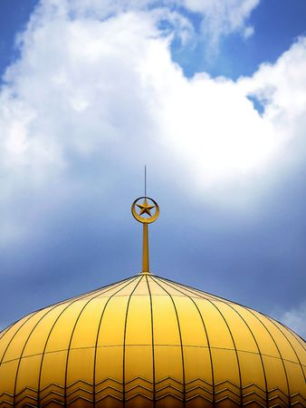 The Big Yellow Mosque